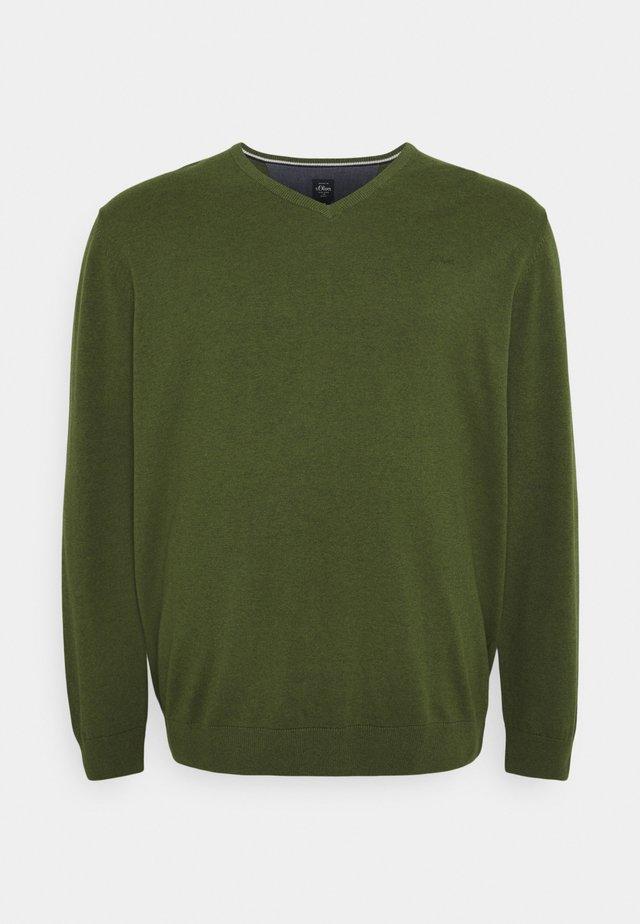 Jumper - khaki/olive