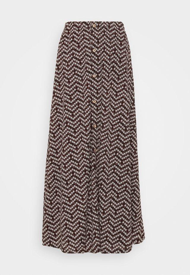 ONLPELLA MAXI SKIRT - Maxi skirt - black