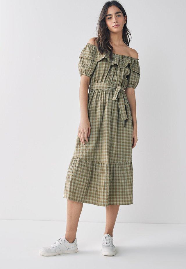 BARDOT  - Denní šaty - brown