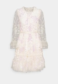 Needle & Thread - AUDREY SLEEVE MINI DRESS - Koktejlové šaty/ šaty na párty - champagne - 5