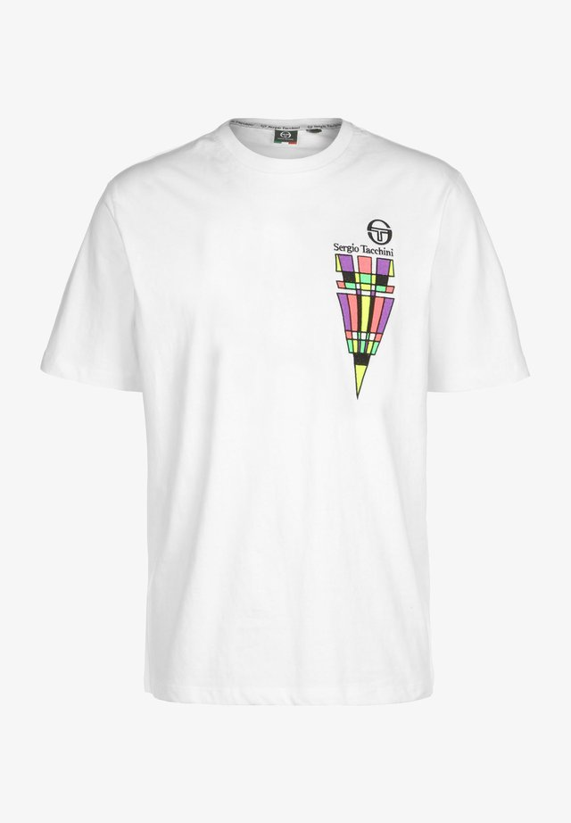 CAMPORESE - T-shirts print - white/coral
