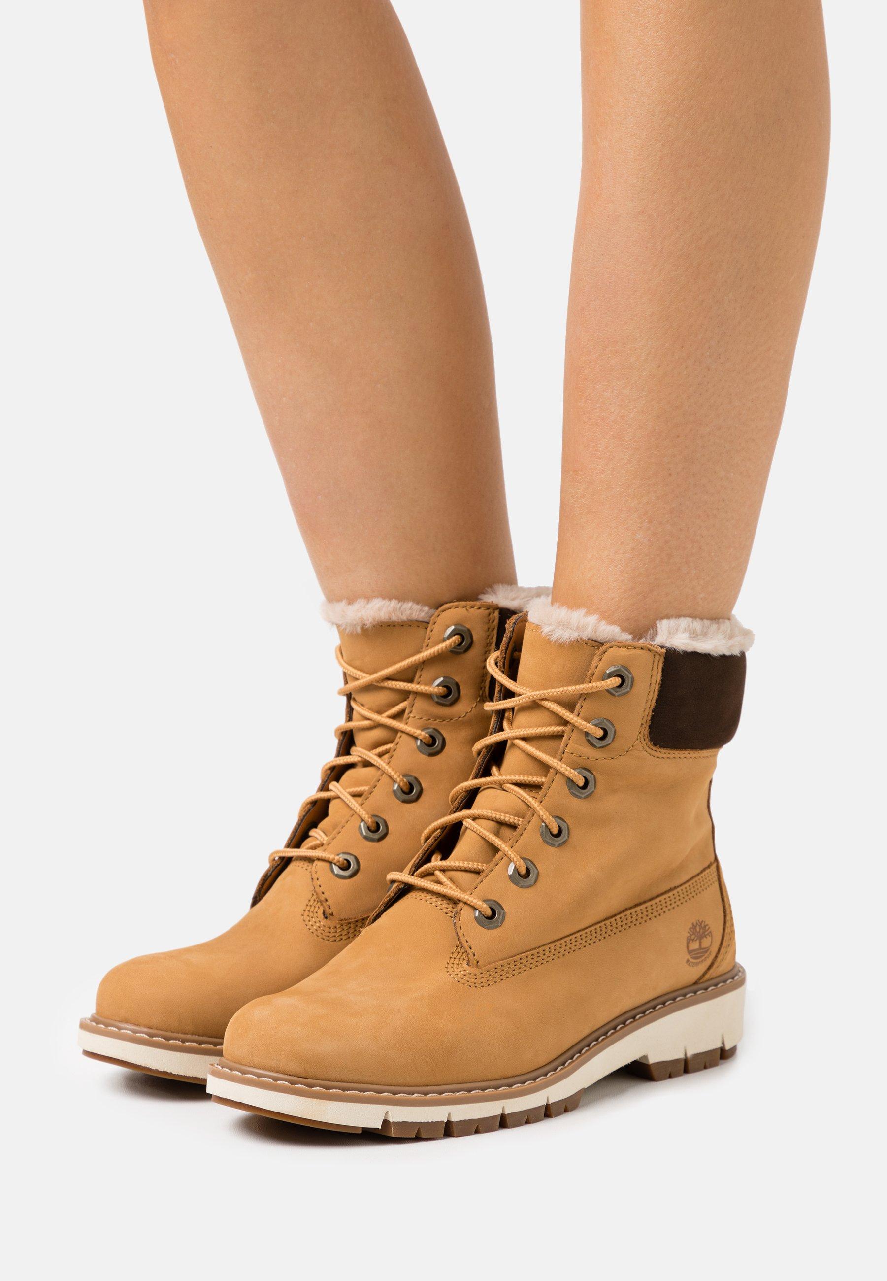 No complicado Intermedio Consciente de  Timberland LUCIA 6 IN BOOT WP - Lace-up ankle boots - wheat/yellow - Zalando .ie