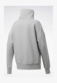 Reebok - TRAINING ESSENTIALS COVER-UP - Sweatshirt - grey - 1