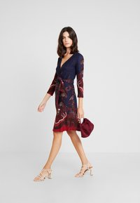 Anna Field - Day dress - blue/bordeaux - 2