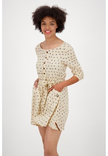 SCARLETT LONGAK - Jersey dress - cloudy