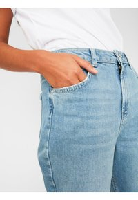 Pieces - Relaxed fit jeans - light blue denim - 3