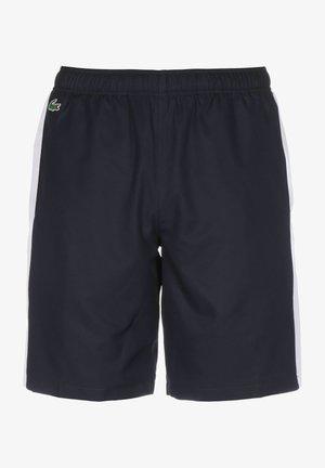 Shorts - navy blue/white-white