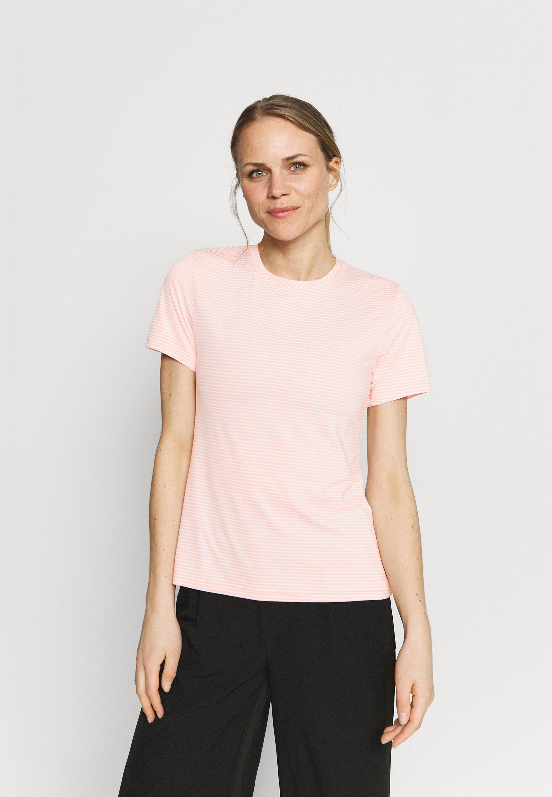 Women FIRWOOD CAMP - Print T-shirt - faux pink/white