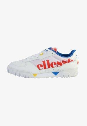 Zapatillas - blanc rouge bleu