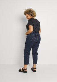 Levi's® Plus - PL 501 CROP - Straight leg jeans - salsa stonewash - 2