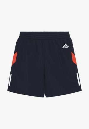 RUN - Korte broeken - collegiate navy/red/silver
