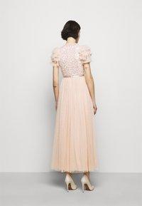 Needle & Thread - SHIRLEY RIBBON BODICE DRESS - Iltapuku - pink encore - 2