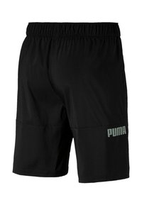 Puma - A.C.E WOVEN - Pantalón corto de deporte - black - 1