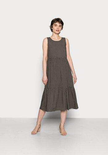 WORTA GEOMETRIC - Day dress - black