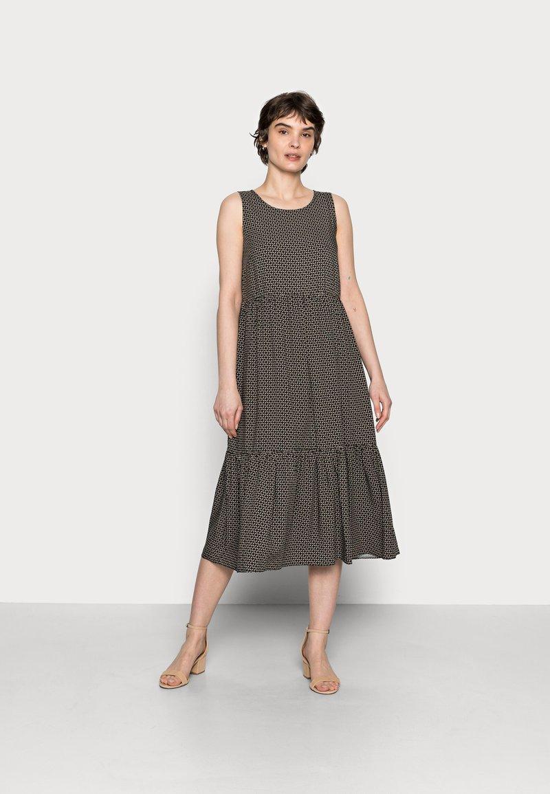 Opus - WORTA GEOMETRIC - Day dress - black