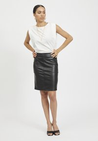 Vila - VIPEN - Pencil skirt - black - 1