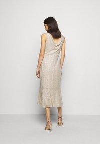 Lauren Ralph Lauren - TULIP DRESS - Společenské šaty - sparkling champagner - 2
