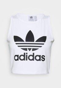 adidas Originals - CROPPED TANK - Toppe - white - 0