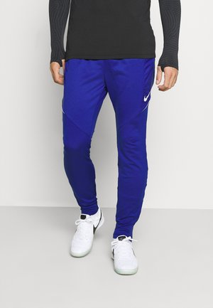DRY STRIKE WINTERIZED - Pantalones deportivos - deep royal blue/white