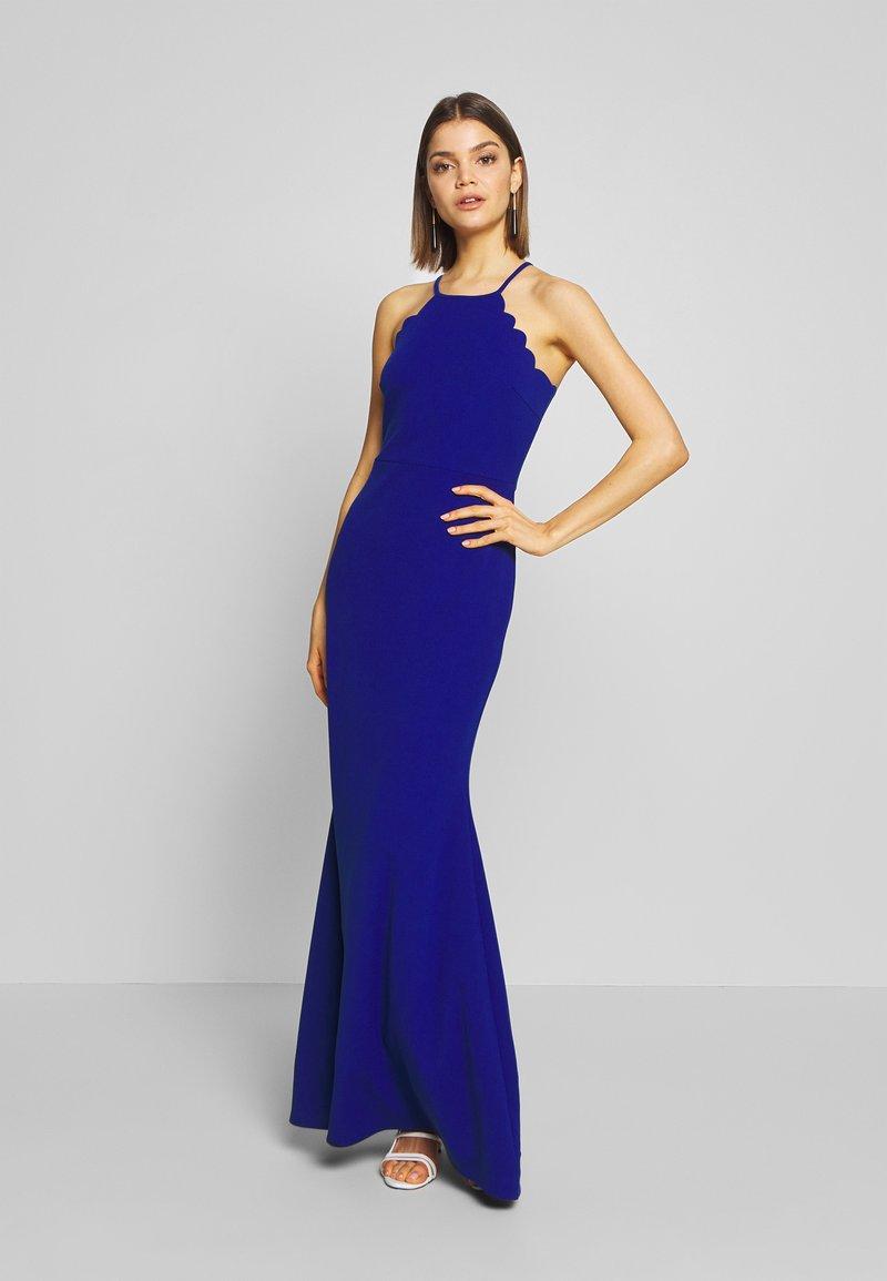 WAL G. - SCALLOP EDGE DRESS - Společenské šaty - electric blue