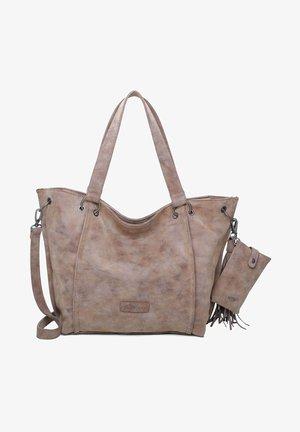 VINTAG - Shopping bag - old wood