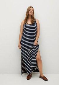 Violeta by Mango - GUAY - Maxi dress - dunkles marineblau - 1