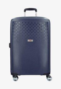 Hardware - Wheeled suitcase - blue - 0