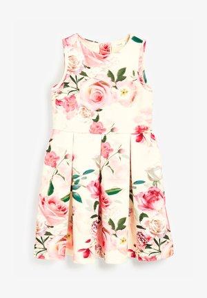 BERRY FLORAL PONTE  - Denní šaty - multi-coloured