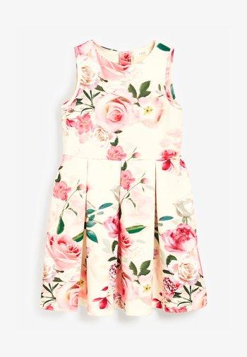 BERRY FLORAL PONTE  - Vestido informal - multi-coloured