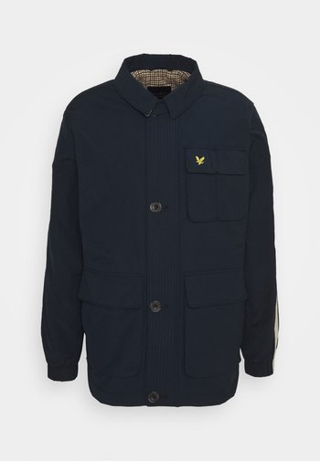 ARCHIVE TWIN POCKET RELAXED FIT - Tunn jacka - dark navy
