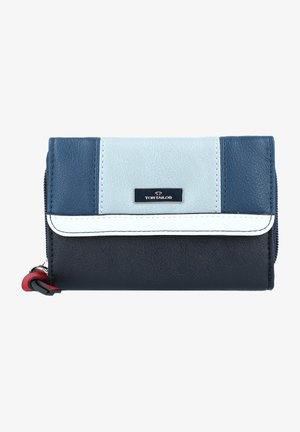 Wallet - mixed blue