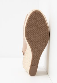 Dune London WIDE FIT - WIDE FIT KICKS  - Sandalias de tacón - blush - 6