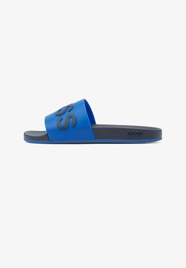 Badslippers - blue
