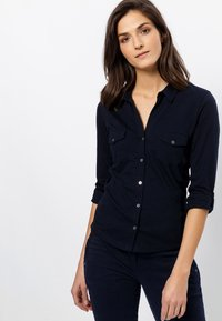 zero - Button-down blouse - dark blue - 0