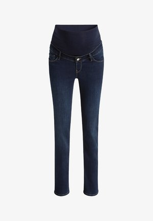 Jeansy Straight Leg - dark-blue denim