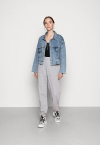 Missguided - BASIC - Tracksuit bottoms - grey - 2