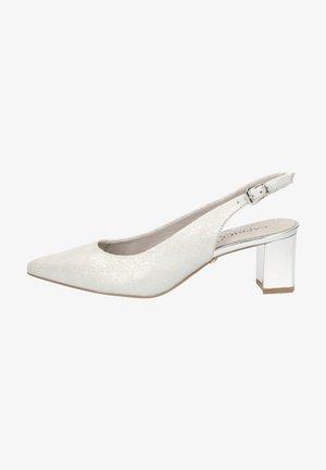 Classic heels - lt gr. snake