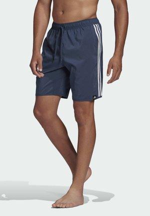 CLASSIC-LENGTH 3-STRIPES SWIM SHORTS - Krótkie spodenki sportowe - blue