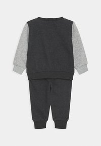Converse - COLORBLOCK CREW SET - Mikina - black heather