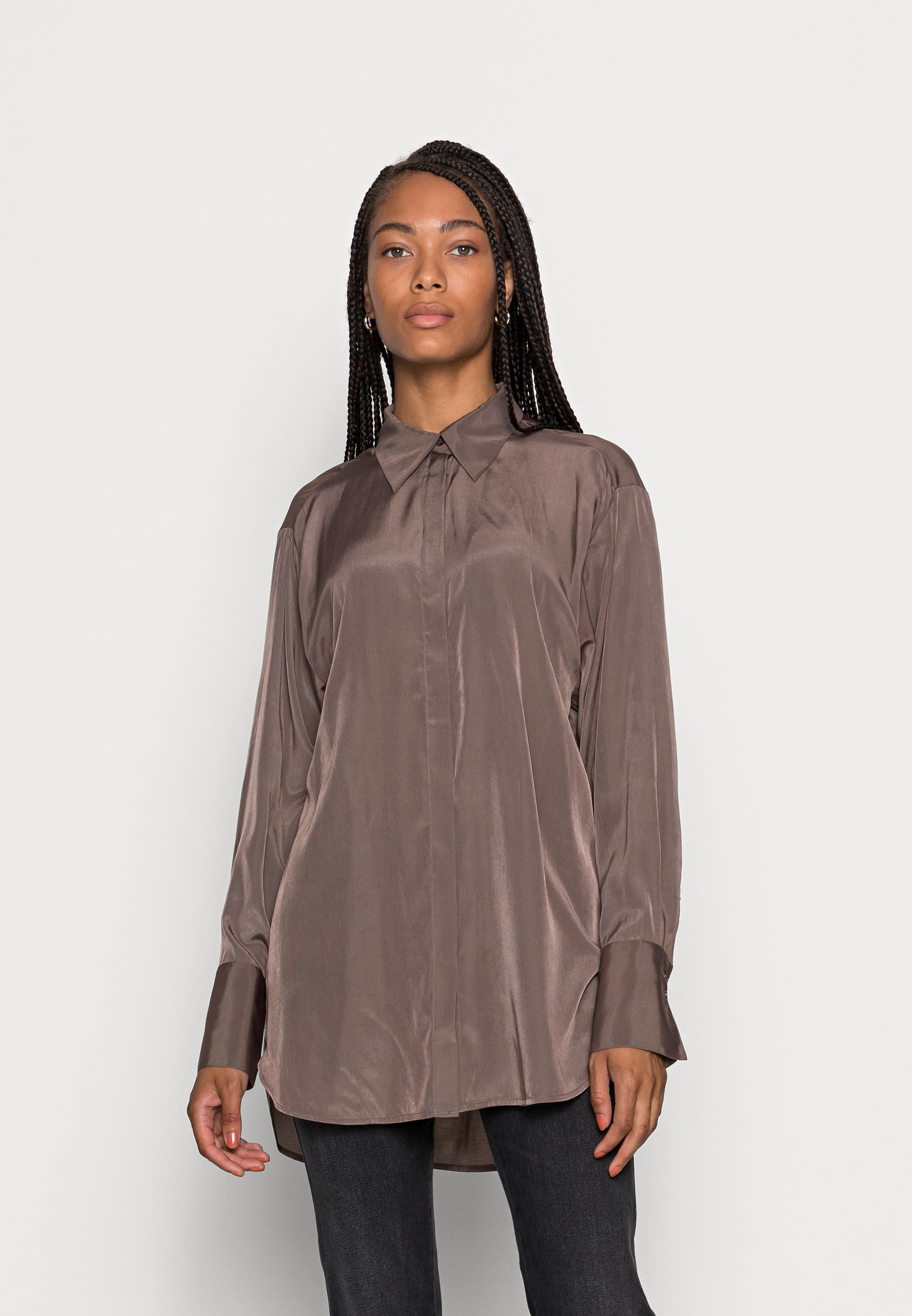 Women BLOUSE EMMI - Button-down blouse