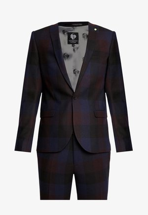 ASHBY SUIT - Jakkesæt - burgundy