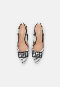 Liu Jo Jeans - KATIA SLING BACK  - Classic heels - black/white - 5