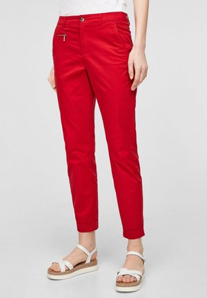 SLIM FIT - Chinos - true red