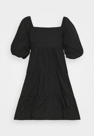 ERYN MINI DRESS - Day dress - plain black