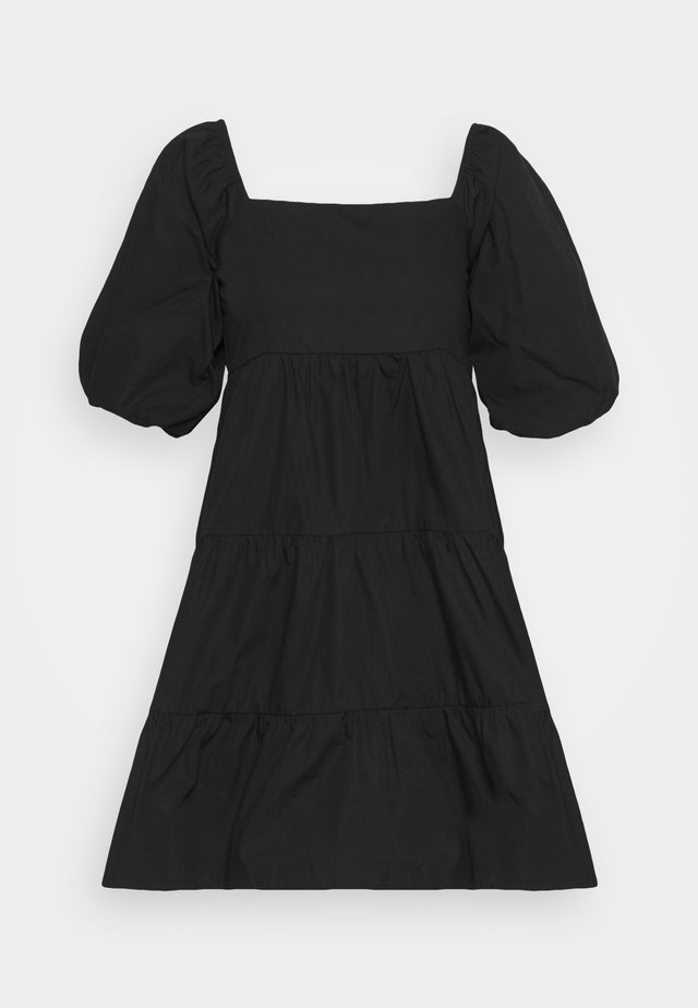 ERYN MINI DRESS - Kjole - plain black