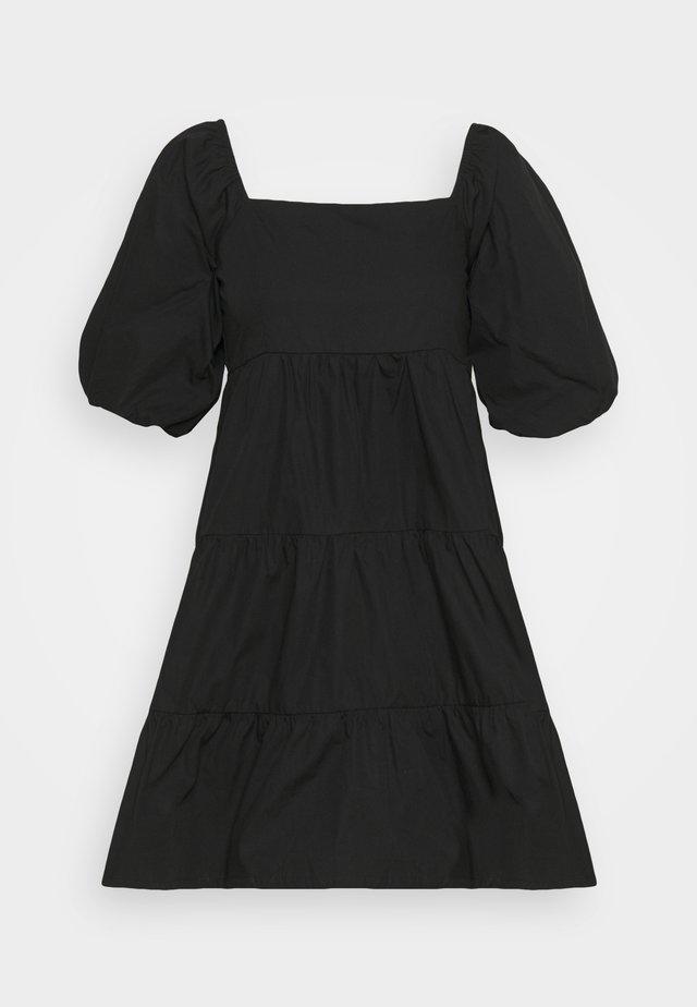 ERYN MINI DRESS - Vardagsklänning - plain black