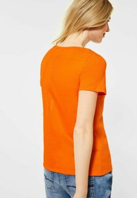 Street One - Print T-shirt - orange - 1