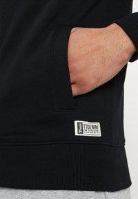 TOM TAILOR DENIM - JACKET - Zip-up hoodie - black - 5