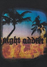 Night Addict - SUNSET - Mikina - black - 5