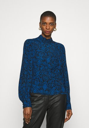 LORALI BLOUSE - Bluser - blue/black vintage